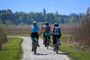 Gemeinsam Radfahren